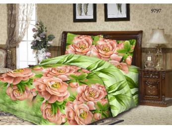 Постельное белье Хлопковый Рай Бязь КПБ Бязь Дизайн 9797 ГОСТ (1.5 спальный)
