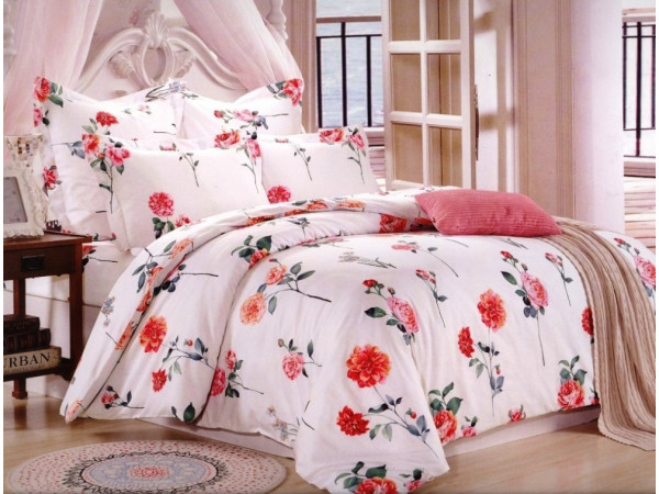 Постельное белье Valtery Сатин КПБ CL-196 (2 спальный)