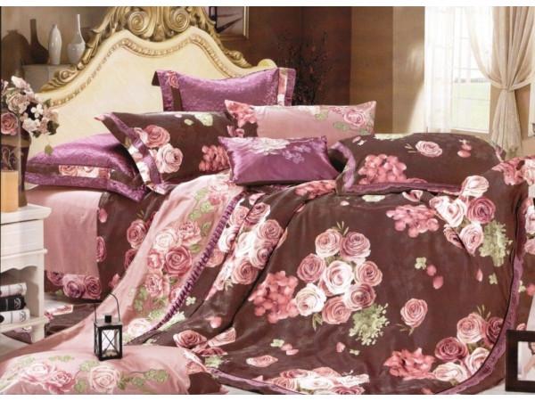 Постельное белье СайлиД D-165 Сатин с вышивкой (2 спальный)