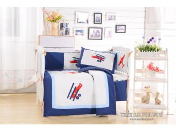 Постельное белье для новорожденных Valtery DK-08 (+бортики в кроватку)