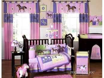 Постельное белье для новорожденных Valtery DK-17 (+бортики в кроватку)
