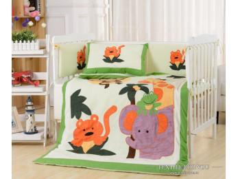 Постельное белье для новорожденных Valtery DK-19 (+бортики в кроватку)