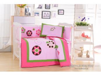 Постельное белье для новорожденных Valtery DK-21 (+бортики в кроватку)