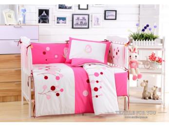 Постельное белье для новорожденных Valtery DK-22 (+бортики в кроватку)