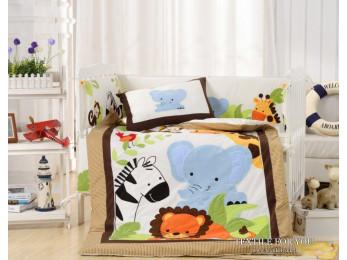 Постельное белье для новорожденных Valtery DK-25 (+бортики в кроватку)