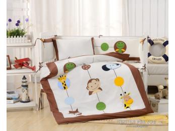 Постельное белье для новорожденных Valtery DK-26 (+бортики в кроватку)
