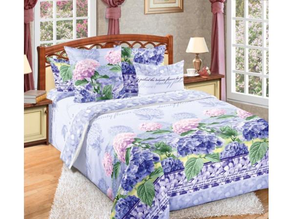 Постельное белье Хлопковый Рай Бязь КПБ Гортензия Бязь (2 спальный)