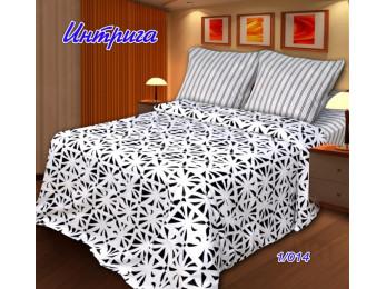Постельное белье Хлопковый Рай Бязь КПБ Интрига Бязь ГОСТ (1.5 спальный)