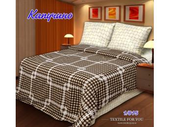 Постельное белье Хлопковый Рай Бязь КПБ Капучино Бязь ГОСТ (2 спальный)