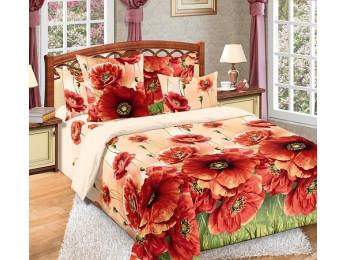 Постельное белье Хлопковый Рай Бязь КПБ Кармен Бязь (1.5 спальный)