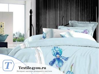 Постельное белье Famille Сатин КПБ Хлопок сатин с вышивкой ES-11 (Семейный)