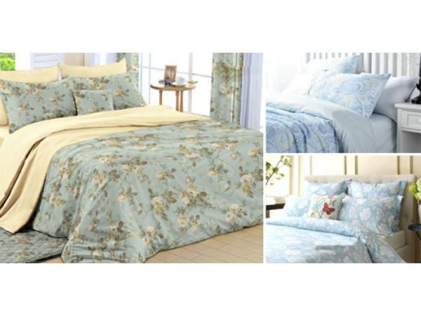 Постельное белье Хлопковый Рай Бязь КПБ Ламис Бязь ГОСТ (2 спальный)