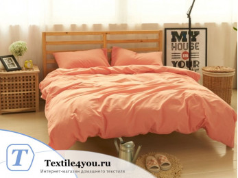 Постельное белье Valtery Лён с хлопком КПБ LE-05 (1.5 спальный)