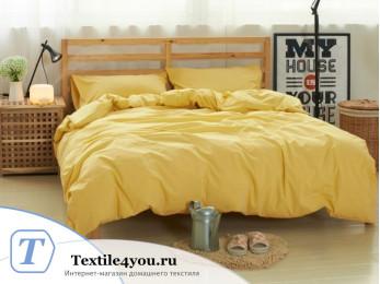 Постельное белье Valtery Лён с хлопком КПБ LE-07 (1.5 спальный)