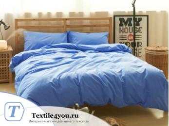 Постельное белье Valtery Лён с хлопком КПБ LE-08 (1.5 спальный)