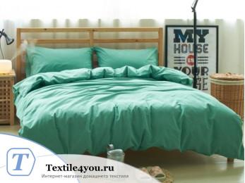 Постельное белье Valtery Лён с хлопком КПБ LE-09 (1.5 спальный)