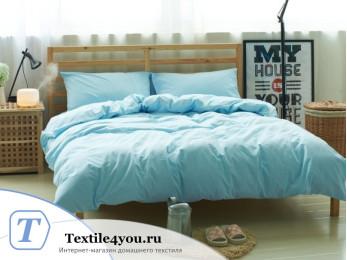 Постельное белье Valtery Лён с хлопком КПБ LE-10 (2 спальный)