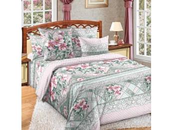 Постельное белье Хлопковый Рай Бязь КПБ Мальдивы Бязь (1.5 спальный)