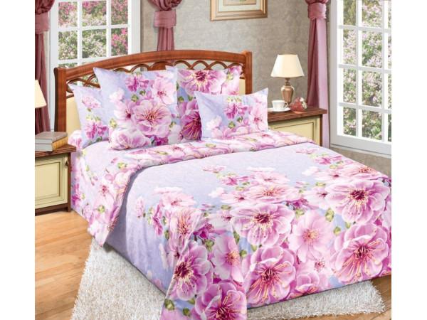 Постельное белье Хлопковый Рай Бязь КПБ Миндаль Бязь (1.5 спальный)