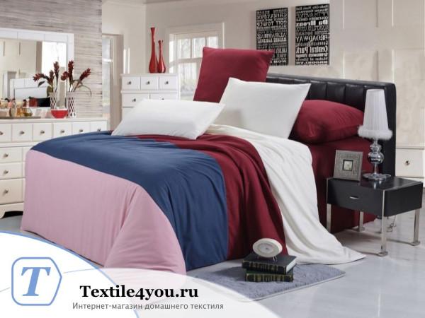Постельное белье Valtery Софткоттон КПБ MO-22 (1,5 спальный)