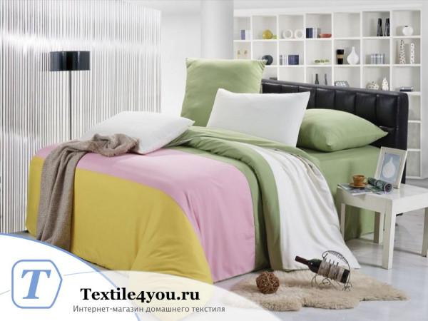 Постельное белье Valtery Софткоттон КПБ MO-23 (1,5 спальный)