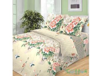 Постельное белье Хлопковый Рай Бязь КПБ Поэзия Бязь (1.5 спальный)