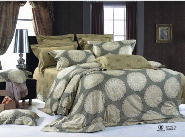 Постельное белье Famille Сатин КПБ RS-207 (2 спальный)