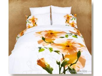 Постельное белье Famille Сатин КПБ RS-41 (2 спальный)