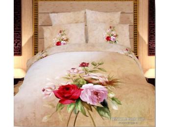Постельное белье Famille Сатин КПБ RS-46 (2 спальный)