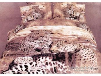 Постельное белье Famille Сатин КПБ RS-76 (2 спальный)