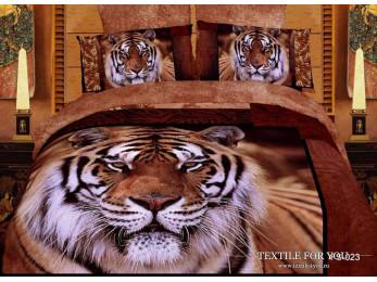 Постельное белье Famille Сатин КПБ RS-83 (2 спальный)