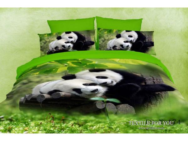Постельное белье Famille Сатин КПБ RS-95 (2 спальный)