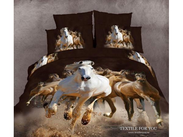 Постельное белье Famille Сатин КПБ RS-97 (2 спальный)