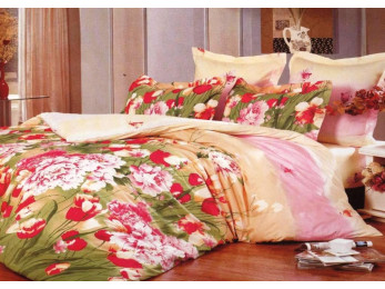 Постельное белье Valtery Сатин КПБ C-147 (1.5 спальный)