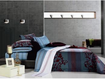 Постельное белье Famille Сатин КПБ SDS-33 (2 спальный)