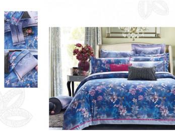 Постельное белье Famille Сатин КПБ SDS-46 (2 спальный)