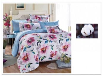 Постельное белье Famille Сатин КПБ SDS-47 (2 спальный)