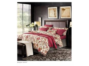 Постельное белье Famille Сатин КПБ SDS-49 (2 спальный)