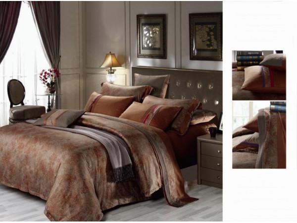 Постельное белье Famille Сатин КПБ SDS-51 (2 спальный)