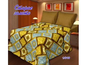 Постельное белье Хлопковый Рай Бязь КПБ Старое золото Бязь ГОСТ (1.5 спальный)