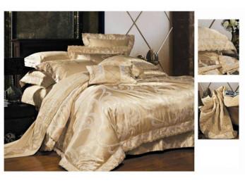 Постельное белье Famille Сатин КПБ TJ-03 (2 спальный)