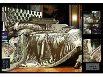 Постельное белье Famille Сатин КПБ TJ-06 (Семейный)
