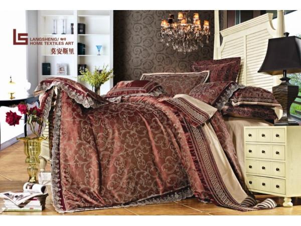 Постельное белье Famille Сатин КПБ TJ-18 (2 спальный)
