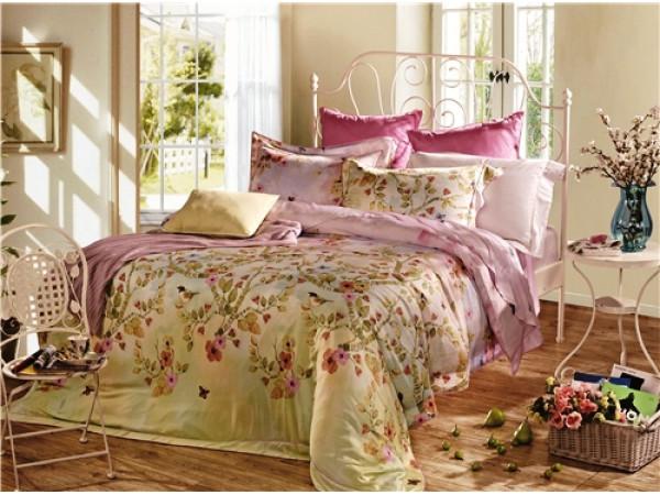 Постельное белье Famille Тенсел КПБ TP-10 (2 спальный)