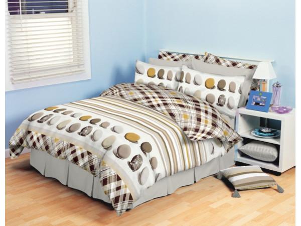 Постельное белье Хлопковый Рай Бязь КПБ Триумф Бязь ГОСТ (2 спальный)