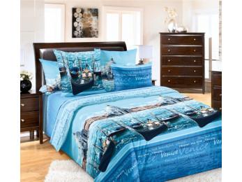 Постельное белье Хлопковый Рай Бязь КПБ Венеция Бязь (1.5 спальный)