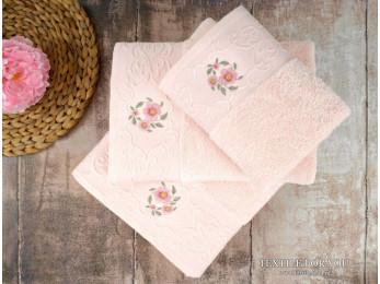 Полотенце махровое IRYA LOYA - 50x90 см (1 шт.) - Розовый