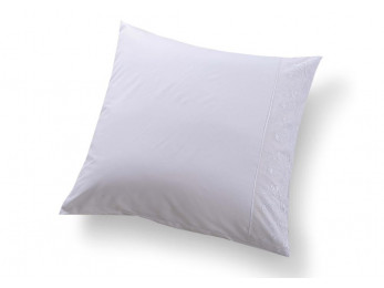 Наволочка Valtery Софткоттон с гипюром NMG-05 (70x70 см - 2 шт.) - Белый