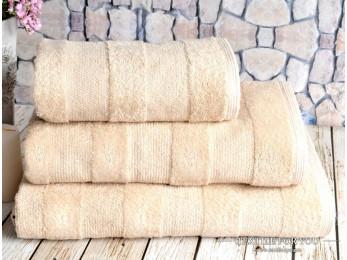 Полотенце махровое IRYA NOVA - 50x90 см (1 шт.) - Бежевый