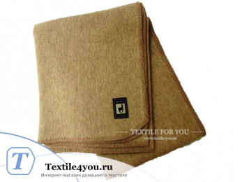 Одеяло шерстяное INCALPACA OA-4 (175x205 см) альпака, меринос